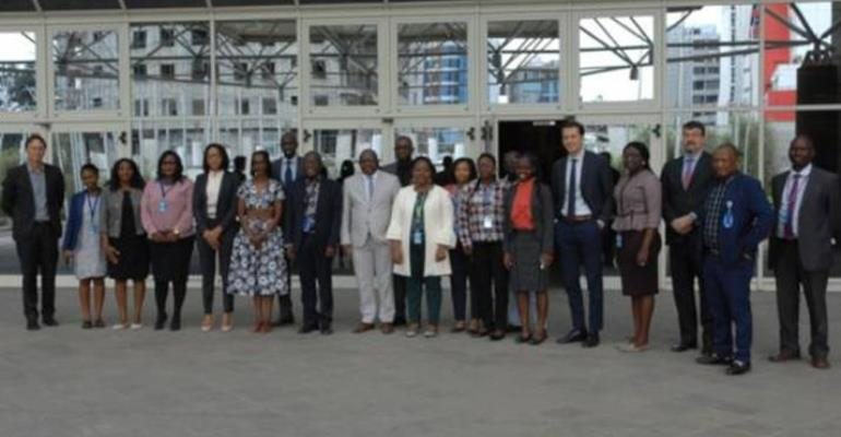 """The Macroeconomics and Governance Division of the Economic Commission for Africa (ECA) on Tuesday held an Experts' Group Meeting (EGM) to review and validate the draft study on """"Fiscal Risks in PPPs: A Benchmark Study on Africa."""""""